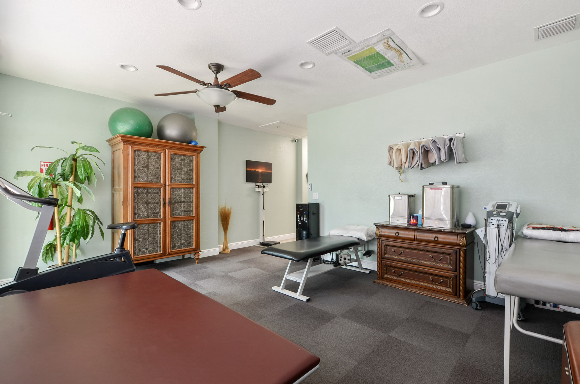 Core Chiropractic & Wellness Fitness Room